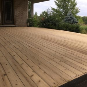 Stripped & Sanded- Freelton Translucent Stain
